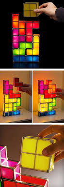 Diy Led Desk L Tetris Stackable Led Desk L The L Shape