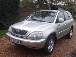 lexus rx300 handbook used 2002 lexus rx 3 0 se 5dr for sale in lamberhurst kent