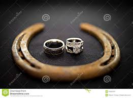 western wedding rings cowboy wedding rings stock photo image 18922330