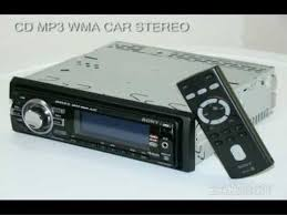 sony xplod cdx gt520 cd mp3 wma car stereo cdxgt520 youtube