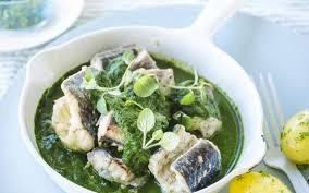 cuisiner une anguille anguilles au vert cuisine et recettes recette femmes d aujourd