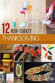 12 non turkey thanksgiving crafts for to make do