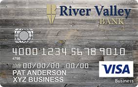 Visa Business Card River Valley Bank Business Credit Cards