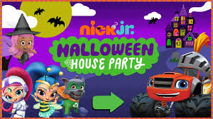 nick jr halloween house party youtube