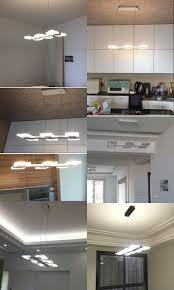 eclairage plafond cuisine eclairage plafond cuisine led design photo décoration chambre 2018