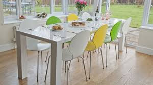 Extending Dining Table And Chairs Uk Modern White High Gloss Extending Dining Set Uk