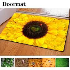 sunflower kitchen rug roselawnlutheran