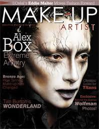 magazines for makeup artists tim burton makeup makeup tim burton make up and