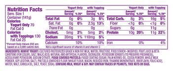 dannon light and fit nutrition dannon light fit greek crunch caramel fudge pretzel yogurt reviews
