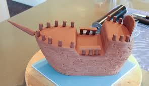 pirate ship cake pirate ship cake tutorial cake cupcakes and cookies