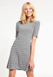 best cheap womens clothes online even u0026odd jersey dress black white