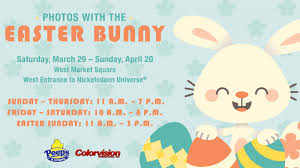 Mall Of America Map Pdf mall of america kids choice awards screening party easter bunny
