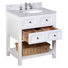 new yorker 30 inch vanity carrara white u2013 kitchenbathcollection