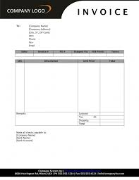 simple invoice template word free design invoice template