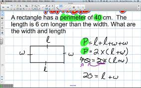 Area And Perimeter Worksheets 4th Grade Problem Solving With Perimeter Grade 5 Nelson Chapter 5 Review 2 2