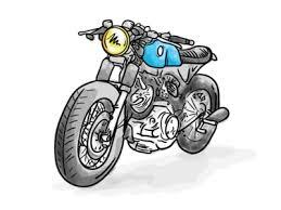 momercycle illustrator sketch by phil selander dribbble