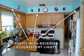 How To Remove Kitchen Cabinets How To Remove Soffits Above Kitchen Cabinets Learn How To