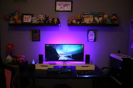 Gaming Desk Setups by My Super Girly Gaming Battlestation The Blingtron 9001 Gaming