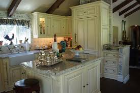 Country French Kitchen Cabinets by Candlelight Cabinets For A Traditional Kitchen With A Off White