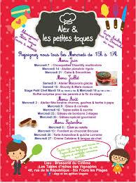 atelier cuisine pour enfants site officiel de la mairie de six fours les plages atelier de
