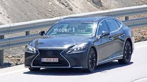lexus ls spied looking sporty possibly preparing for more power
