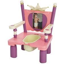 Toddler Patio Chair Her Majesty U0027s Throne Princess Wooden Potty Chair Potty Training