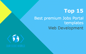 top 15 best premium jobs portal html templates our code world