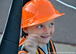 excavator halloween costume made happy hallween construction equipment costume tutorial diy