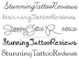 25 unique cursive fonts for tattoos ideas on pinterest tattoo