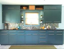 Kitchen Cabinets Paint Colors Designs Ideas And Decors - Blue painted kitchen cabinets