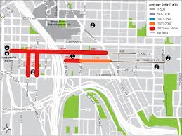 Seattle Traffic Map by Seattle Department Of Transportation Seattle Neighborhood