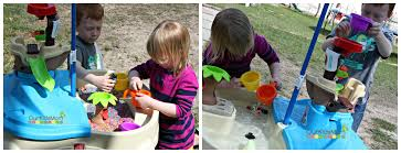step 2 water table with umbrella step2 high seas adventure sand and water table review