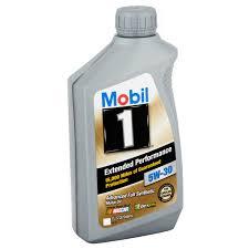 nissan versa engine oil mobil 1 5w 30 extended performance full synthetic motor oil 1 qt