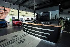 bmw showroom interior analysing car showroom design by al futtaim interiors design