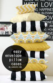 Cushion Covers Without Zips Easy Envelope Pillow Case
