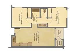 Aging In Place Floor Plans Verano Place Graduate Apartments