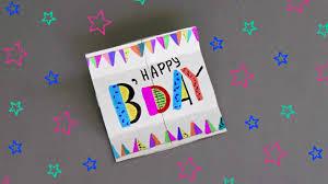 diy endless card for birthday tutorial diy cards youtube