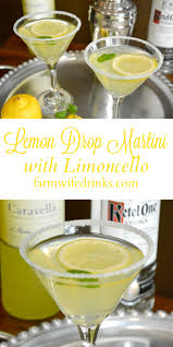 sweet martini lemon drop martini with limoncello the farmwife drinks