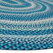 Braided Throw Rugs Blue Braided Area Rug 5 U0027x7 U0027 Pillowfort Target