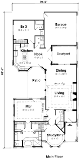 lake home plans narrow lot 10 best narrow plans images on home plans house floor