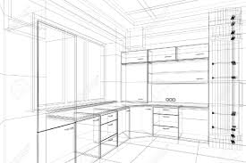 kitchen cool sketch of kitchen cool home design classy simple