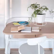 all white workspace featuring the victor desk from harto france