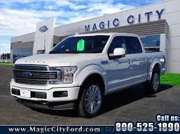 2018 new ford f 150 limited at magic city ford lincoln roanoke