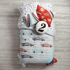 Race Car Crib Bedding Set by Race Car Kids Bedding The Land Of Nod