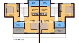 Twin House Plans 44 Best 3 Bedroom House Plans Bedroom House 577sq Plans On One