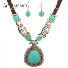 jewelry necklace earring sets images Fashion tibetan style jewelry malaysia imports natural coconut jpeg