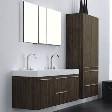 europa venice walnut bathroom vanity basin unit storage unit