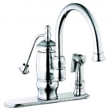 belle foret kitchen faucet 04cp belle foret single handle kitchen faucet with matching