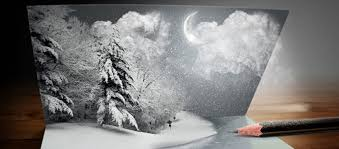 photoshop tutorial awesome christmas card creation u2013 snow scene