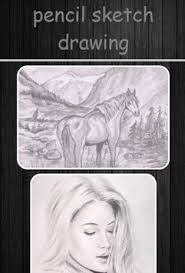 pencil sketch drawing apk download free art u0026 design app for